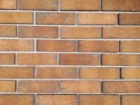 BRICK TILES SAHARA Red/Yellow and black flamed color 710NF, Hand moulding