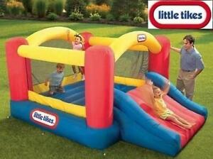 NEW LITTLE TIKES JUMP BOUNCER 620072 242935793 JUMP N SLIDE INFLATABLE TOY 3 TO 8 YEARS