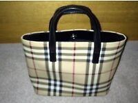 *IMMACULATE* Genuine Burberry Small Tote Bag
