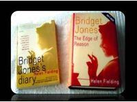 BRIDGET JONES BOOKS by HELEN FIELDING - FOR SALE