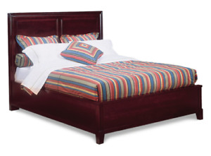 Durham Furniture Solid Wood Queen Bed - Like New - $849.00 OBO