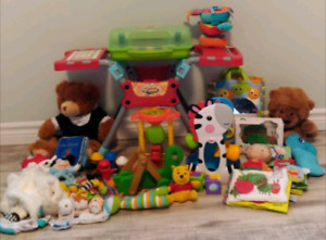 Lot of baby / toddler toys