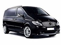Mercedes Vito (8 seater) and Mercedes E Class Saloon Funeral Passenger Transport Service