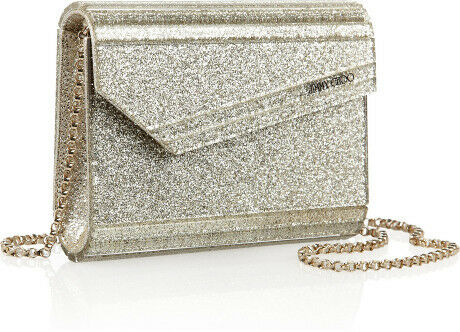 Candy Acrylic Clutch - Gold Jimmy Choo London WXTu41yd33