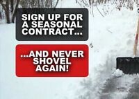 One Time and Ongoing Snow Removal 15% OFF!