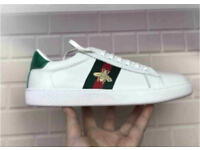 Gucci Bee Trainers Sneakers Unisex Brand New