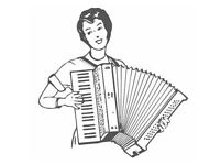 Accordion player available