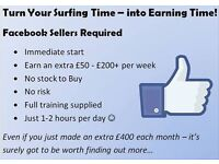 Earn on Facebook