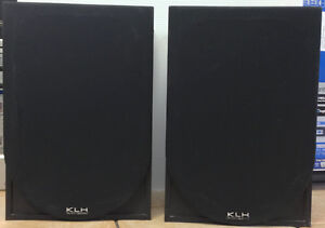 A Pair of KLH L853B Audio Systems Speakers