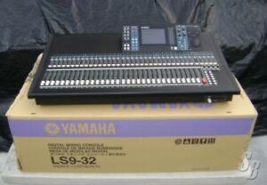 Console Yamaha LS-9 32 inputs comme neuve