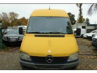 Mercedes Sprinter 313 CDI LHD Cooling Van, Good Engine, Grey Cloth interior - Good Condition