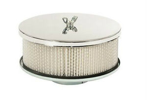 Mr. Gasket / Chrome-Plated Air Cleaner 6-1/2'' diameter
