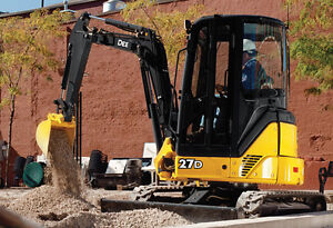 2011 John Deere 27D Mini Excavator, Low hours For Sale