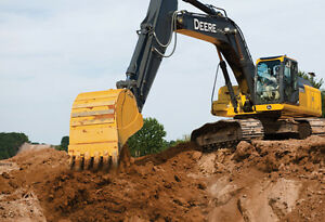 John Deere 350G LC Excavator available for rent