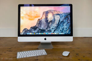 """APPLE IMAC 21.5"""" almost never used 8 gig ram and 1 t"""