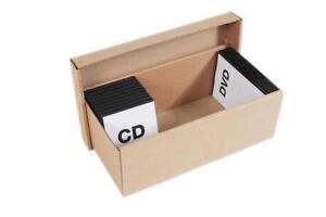 Cardboard CD Storage Box  sc 1 st  eBay & CD Storage Box | eBay