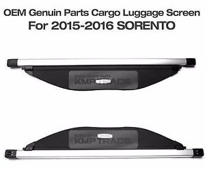 cache bagage kia sorento 2015/2016 noir