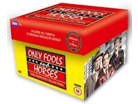 Only Fools and Horses Entire Collection DVD's