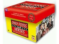 ONLY FOOL'S and HORSES THE COMPLETE DVD COLLECTION