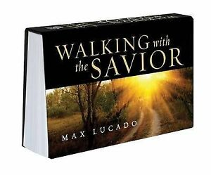Walking with the Savior Pocket Companion by Lucado, Max -Paperback