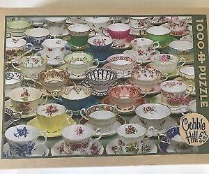 Cobble Hill 1000 Piece Puzzle - Teacups Very Pretty