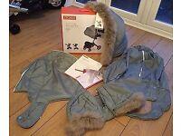 Stokke cloud grey winter kit -unused boxed
