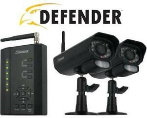 NEW OB DEFENDER DVR SECURITY SYSTEM Digital Wireless DVR Security System with Receiver and 2 Cameras 105694552