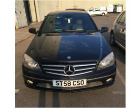 2008 58 Mercedes-Benz CLC 220 2.1 TD CDI Sport Coupe Leather + full service History