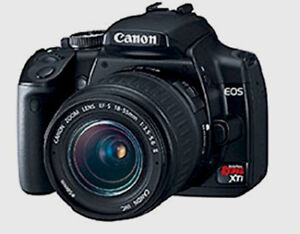 Canon EOS Rebel XTi DSLR Camera with EF-S 18-55mm f/3.5-5.6 Lens