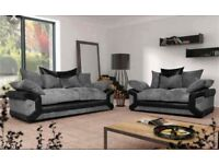 NEW Sheldon 3&2 sofa with FREE FOOTSTOOL