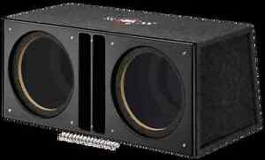 caisson vide mtx audio slh12x2u pour 2 subwoofer 30cm ebay. Black Bedroom Furniture Sets. Home Design Ideas