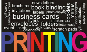 Commercial Printing and Photocopying Services