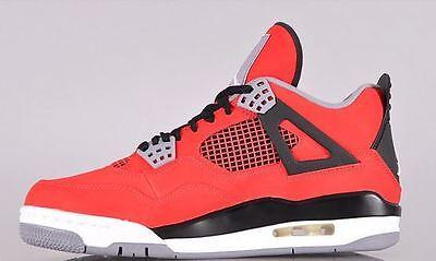 Nike Air Jordan 4 Retro - Fire Red/White-Black-Cmnt Grey (Toro Bravo) US 9