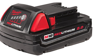 Brand New Milwaukee M18 2.0 Ah Battery and/or M18/M12 Charger