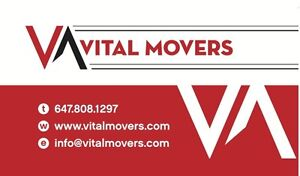 Movers in Bradford 647-808-1297