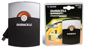 Duracell Rechargeable Pocket USB Charger (Mini USB) London Ontario image 1