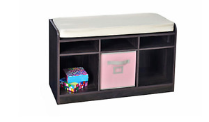 BRAND NEW! Storage bench - Espresso