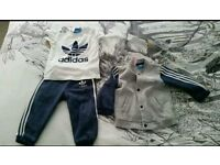 12-18 month boys full Adidas tracksuit including t-shirt.