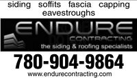 Siding Contractor, Soffit, Fascia, Capping and Eavestroughs