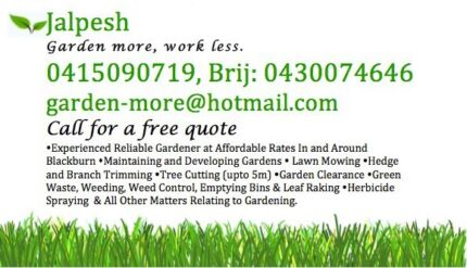 Affordable Garden Maintenance Blackburn Whitehorse Area Preview