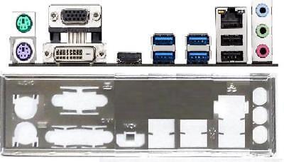 IO I//O Shield Back Plate Blende Bracket for ASUS Z97-K、Z97-K R2.0、Z97-P、Z97-KSM