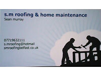 s.mroofing & home maintenance ---roofer -tirler flat roofs