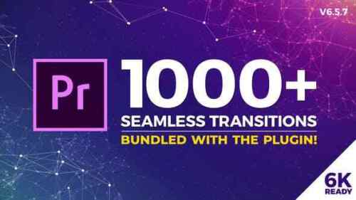 1000 Seamless Drag-n-drop Transitions for Premiere Pro v6.5project