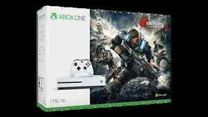 BNIB, UNOPENED 1 TB XBOX ONE S Gears of War 4 Bundle Kitchener / Waterloo Kitchener Area image 1