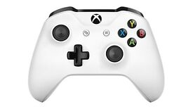 Official Xbox One 3.5mm Wireless Controller - White - Brand New