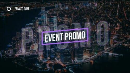VideoHive Stylish Event Promo for After Effects AEP