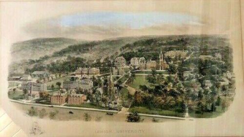 Lehigh University, PA Framed Print by Richard Rummell 1907