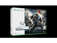 XBOX ONE 'S' 1TB (New) GEARS OF WAR EDITION