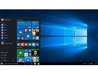 Operating System Windows 7 / Windows 8 / Windows 10 on DVD / USB flash drive
