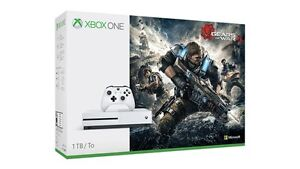 Microsoft Xbox One 1 Tb Gears of Wars 4 Bundle for sale